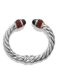 David Yurman | Black Garnet And 18k Gold | Lyst