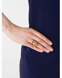 Ca&Lou - Metallic 'elsa' Ring - Lyst