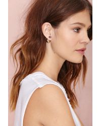 Nasty Gal | Metallic Such A Baller Earrings | Lyst