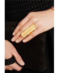 Arme De L'Amour - Metallic Gold-plated Ring - Lyst
