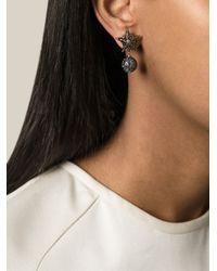 Givenchy | Metallic Star Earrings | Lyst