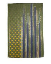 Roda - Green Usa Flag Scarf for Men - Lyst