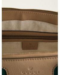 Gucci - Brown Monogram Tote - Lyst