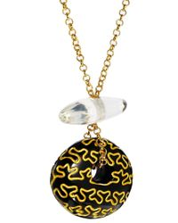 Zandra Rhodes | Metallic Wiggle Long Necklace | Lyst
