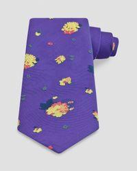 Thomas Pink - Purple Mitcham Flower Classic Tie for Men - Lyst