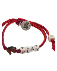 Venessa Arizaga - Purple Horse Play Bracelet - Lyst