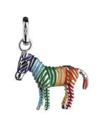 Links of London | Metallic Rainbow Zebra Sterling Silver Charm | Lyst