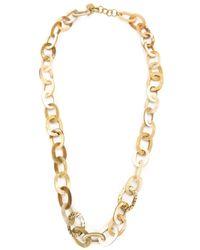 Ashley Pittman | Metallic Oval Link Chain Necklace | Lyst