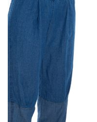 Raquel Allegra - Blue Denim Trousers - Lyst