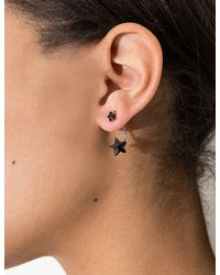 Pixie Market - Blue Midnight Star Front And Back Earrings - Lyst