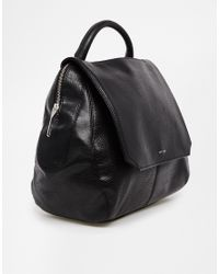 Matt & Nat | Black Wellington Structured Handheld Bag | Lyst