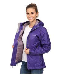 Patagonia | Purple Insulated Torrentshell Jacket | Lyst