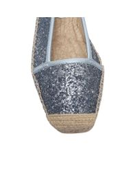 Nine West - Blue Bigapple3 Flat Slip On Espadrilles - Lyst