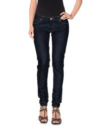 Gas | Blue Denim Pants | Lyst
