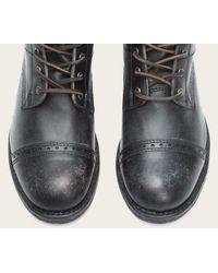 Frye | Black Logan Jump Boot for Men | Lyst