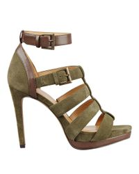 Nine West | Green Benteena Ankle Strap Sandals | Lyst