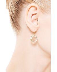 Kothari - Metallic Small Octagon Earrings - Lyst