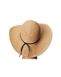 Volcom - Brown Head Trip Floppy Hat - Lyst