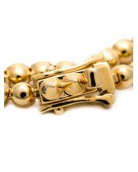 Eddie Borgo | Yellow Beaded Embellished Bracelet | Lyst