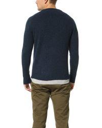 Gant Rugger | Blue The Shetland Sweater for Men | Lyst