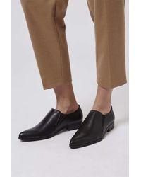 TOPSHOP - Black Klass Double Gusset Shoes - Lyst