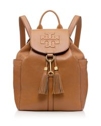 Tory Burch - Brown Thea Backpack - Lyst