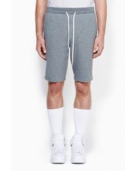 3.1 Phillip Lim - Gray Short With Combo Panel for Men - Lyst
