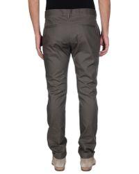 John Galliano - Gray Casual Pants for Men - Lyst