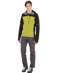 Mountain Hardwear - Green Desna Grid Hooded Fleece Jacket for Men - Lyst