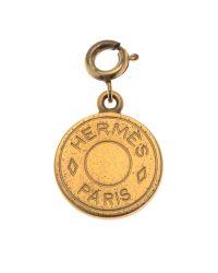 Hermès | Metallic HermãˆS Gold Pendant | Lyst