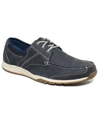 Clarks Blue Armada English Lace-up Shoes for men