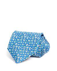 Ferragamo - Blue Butterflies Classic Tie for Men - Lyst