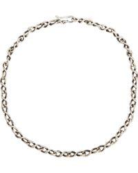 Dean Harris - Metallic Sterling Silver Chain for Men - Lyst