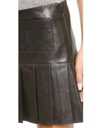 Love Leather - The Brit Skirt - Black - Lyst