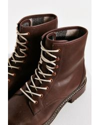 Woolrich | Brown Deadeye Lace-up Boot | Lyst
