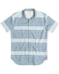 Quiksilver | Blue Barath Island Shirt for Men | Lyst