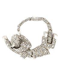Roberto Cavalli | Metallic Panther Bracelet | Lyst
