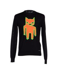 DSquared² - Black Jumper for Men - Lyst