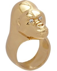 Jennifer Fisher | Metallic Brass Small Gorilla Ring | Lyst
