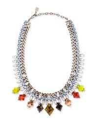 DANNIJO - Cayden Multicolor Necklace - Lyst