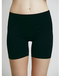 Free People | Black Intimately Womens Simple Bike Short | Lyst