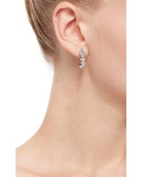 Ara Vartanian - Metallic White Gold Diamond Earrings - Lyst