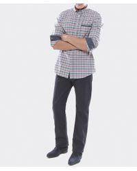 Armani Jeans - Blue J31 Regular Fit Gabardine Jeans for Men - Lyst