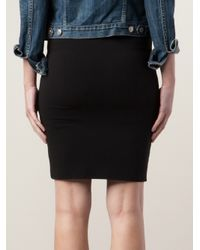 Velvet By Graham & Spencer | Black Sintia Pencil Skirt | Lyst