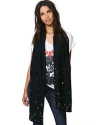 Nasty Gal - Black Well Rounded Scarf - Lyst