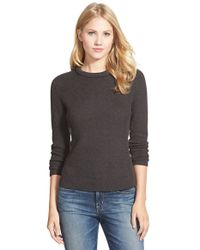 NIC+ZOE | Gray 'snowfield' Top | Lyst