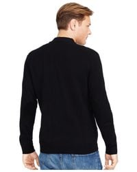 Polo Ralph Lauren | Black Slim-fit V-neck Sweater for Men | Lyst