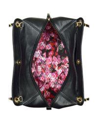Nine West | Black Just Zip It Large Shoulder Bag | Lyst