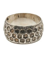 Gas Bijoux | Metallic Vintage Bangle | Lyst