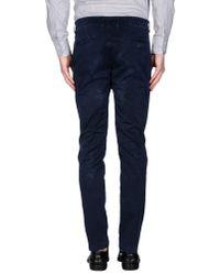 C+ Plus - Blue Casual Pants for Men - Lyst